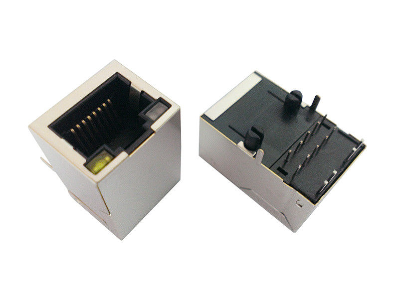 1x1 Lan Connector RJ45 , RJ45 Ethernet Jack Compliant With IEEE 802.3 Standard